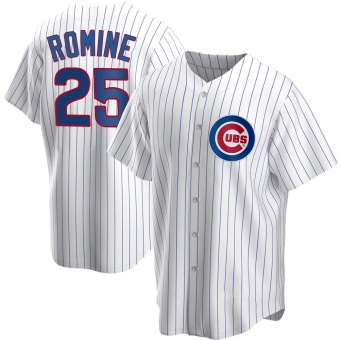 Men's Austin Romine Chicago White Replica Home Baseball Jersey (Unsigned No Brands/Logos)