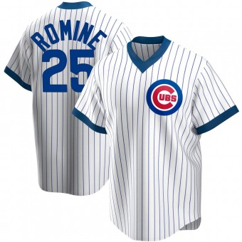 Men's Austin Romine Chicago White Replica Home Cooperstown Collection Baseball Jersey (Unsigned No Brands/Logos)