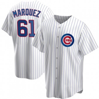 Men's Brailyn Marquez Chicago White Replica Home Baseball Jersey (Unsigned No Brands/Logos)