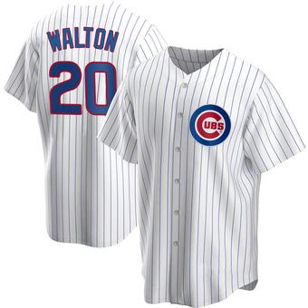 Men's Jerome Walton Chicago White Replica Home Baseball Jersey (Unsigned No Brands/Logos)