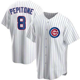Men's Joe Pepitone Chicago White Replica Home Baseball Jersey (Unsigned No Brands/Logos)