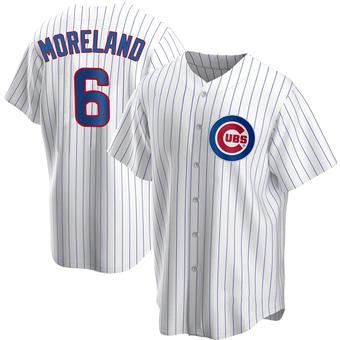 Men's Keith Moreland Chicago White Replica Home Baseball Jersey (Unsigned No Brands/Logos)