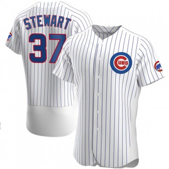 Men's Kohl Stewart Chicago White Authentic Home Baseball Jersey (Unsigned No Brands/Logos)