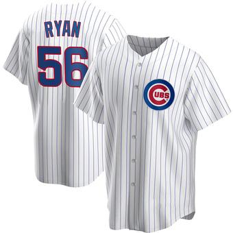 Men's Kyle Ryan Chicago White Replica Home Baseball Jersey (Unsigned No Brands/Logos)