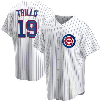 Men's Manny Trillo Chicago White Replica Home Baseball Jersey (Unsigned No Brands/Logos)