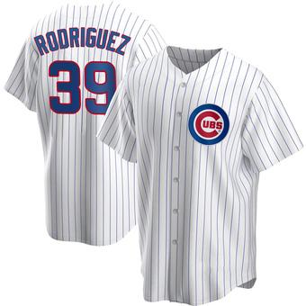Men's Manuel Rodriguez Chicago White Replica Home Baseball Jersey (Unsigned No Brands/Logos)