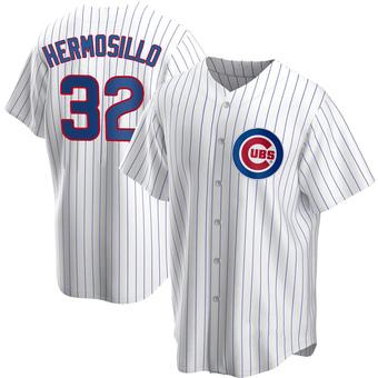 Men's Michael Hermosillo Chicago White Replica Home Baseball Jersey (Unsigned No Brands/Logos)