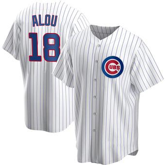 Men's Moises Alou Chicago White Replica Home Baseball Jersey (Unsigned No Brands/Logos)
