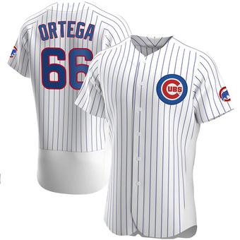 Men's Rafael Ortega Chicago White Authentic Home Baseball Jersey (Unsigned No Brands/Logos)