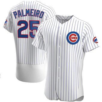 Men's Rafael Palmeiro Chicago White Authentic Home Baseball Jersey (Unsigned No Brands/Logos)