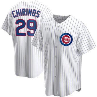 Men's Robinson Chirinos Chicago White Replica Home Baseball Jersey (Unsigned No Brands/Logos)