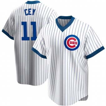 Men's Ron Cey Chicago White Replica Home Cooperstown Collection Baseball Jersey (Unsigned No Brands/Logos)