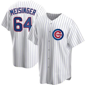 Men's Ryan Meisinger Chicago White Replica Home Baseball Jersey (Unsigned No Brands/Logos)