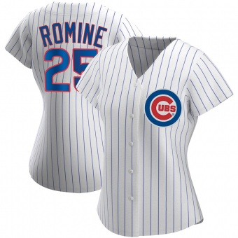 Women's Austin Romine Chicago White Authentic Home Baseball Jersey (Unsigned No Brands/Logos)