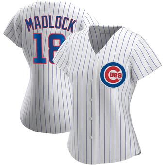 Women's Bill Madlock Chicago White Replica Home Baseball Jersey (Unsigned No Brands/Logos)
