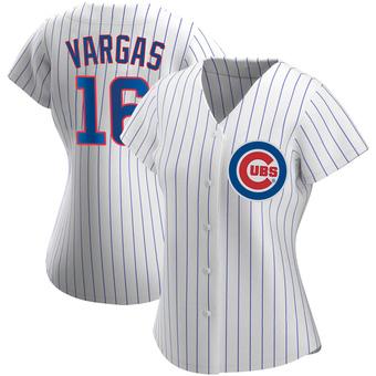 Women's Ildemaro Vargas Chicago White Replica Home Baseball Jersey (Unsigned No Brands/Logos)