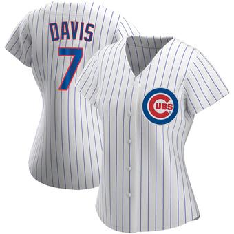 Women's Jody Davis Chicago White Replica Home Baseball Jersey (Unsigned No Brands/Logos)