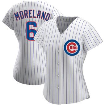 Women's Keith Moreland Chicago White Replica Home Baseball Jersey (Unsigned No Brands/Logos)