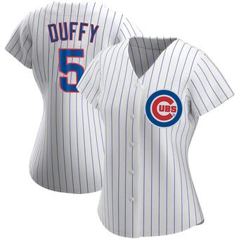 Women's Matt Duffy Chicago White Authentic Home Baseball Jersey (Unsigned No Brands/Logos)