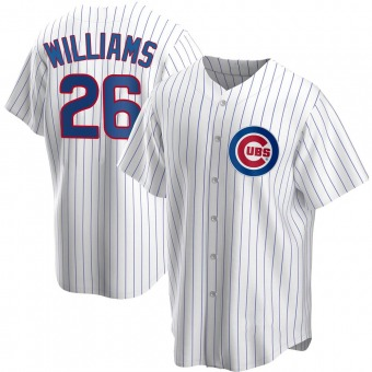 Youth Billy Williams Chicago White Replica Home Baseball Jersey (Unsigned No Brands/Logos)