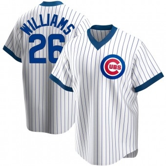 Youth Billy Williams Chicago White Replica Home Cooperstown Collection Baseball Jersey (Unsigned No Brands/Logos)