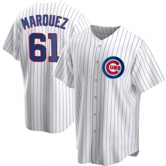 Youth Brailyn Marquez Chicago White Replica Home Baseball Jersey (Unsigned No Brands/Logos)