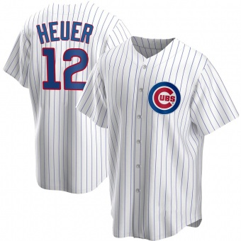 Youth Codi Heuer Chicago White Replica Home Baseball Jersey (Unsigned No Brands/Logos)