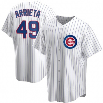 Youth Jake Arrieta Chicago White Replica Home Baseball Jersey (Unsigned No Brands/Logos)