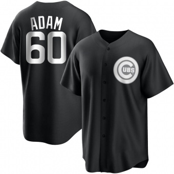 Youth Jason Adam Chicago Black/White Replica Baseball Jersey (Unsigned No Brands/Logos)