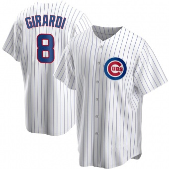 Youth Joe Girardi Chicago White Replica Home Baseball Jersey (Unsigned No Brands/Logos)