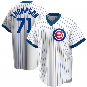 Youth Keegan Thompson Chicago White Replica Home Cooperstown Collection Baseball Jersey (Unsigned No Brands/Logos)
