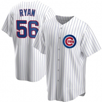Youth Kyle Ryan Chicago White Replica Home Baseball Jersey (Unsigned No Brands/Logos)