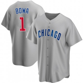 Youth Larry Bowa Chicago Gray Replica Road Baseball Jersey (Unsigned No Brands/Logos)