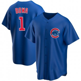 Youth Larry Bowa Chicago Royal Replica Alternate Baseball Jersey (Unsigned No Brands/Logos)