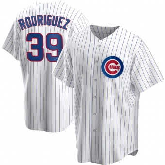 Youth Manuel Rodriguez Chicago White Replica Home Baseball Jersey (Unsigned No Brands/Logos)