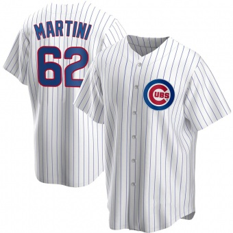 Youth Nick Martini Chicago White Replica Home Baseball Jersey (Unsigned No Brands/Logos)