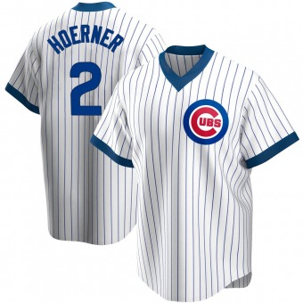Youth Nico Hoerner Chicago White Replica Home Cooperstown Collection Baseball Jersey (Unsigned No Brands/Logos)