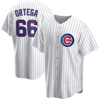 Youth Rafael Ortega Chicago White Replica Home Baseball Jersey (Unsigned No Brands/Logos)