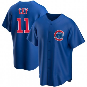 Youth Ron Cey Chicago Royal Replica Alternate Baseball Jersey (Unsigned No Brands/Logos)