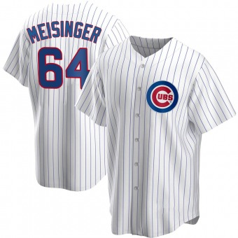 Youth Ryan Meisinger Chicago White Replica Home Baseball Jersey (Unsigned No Brands/Logos)