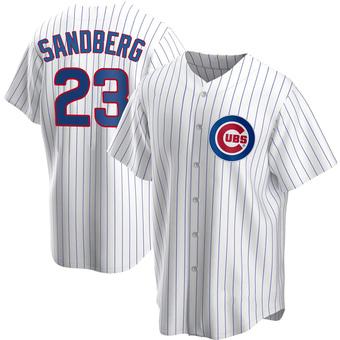Youth Ryne Sandberg Chicago White Replica Home Baseball Jersey (Unsigned No Brands/Logos)
