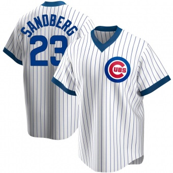 Youth Ryne Sandberg Chicago White Replica Home Cooperstown Collection Baseball Jersey (Unsigned No Brands/Logos)