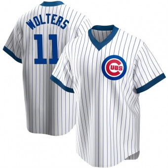 Youth Tony Wolters Chicago White Replica Home Cooperstown Collection Baseball Jersey (Unsigned No Brands/Logos)