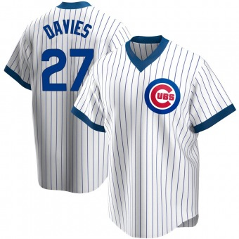 Youth Zach Davies Chicago White Replica Home Cooperstown Collection Baseball Jersey (Unsigned No Brands/Logos)